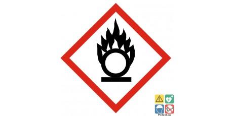 Picto comburant classe de danger