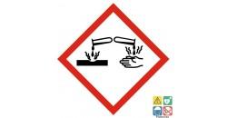 Picto corrosif classe de danger