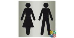 Pictogramme toilettes hommes et femmes