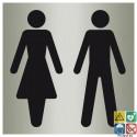 Pictogramme toilettes mixtes