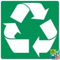Picto recyclage, ruban de Möbius