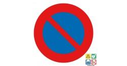Panneau interdit de stationner