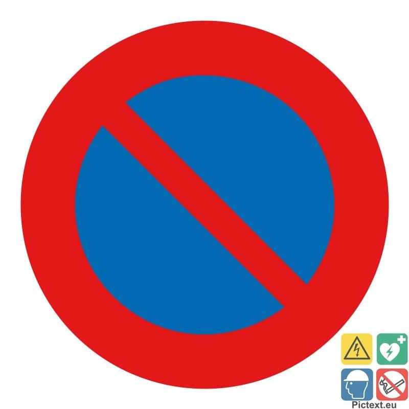 panneau interdiction de stationner voies priv es. Black Bedroom Furniture Sets. Home Design Ideas