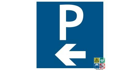 Picto parking à gauche