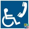 Picto téléphone handicapés