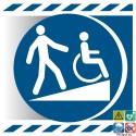 Picto rampe d'accès handicapés