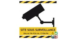 Picto site sous surveillance vidéo gamme xénon
