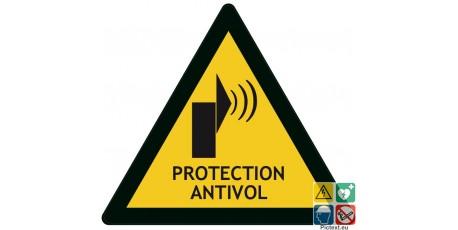 Panneau protection antivol système d'alarme