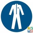 Picto vêtements de protection obligatoires