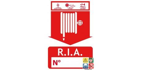 Panneau incendie RIA