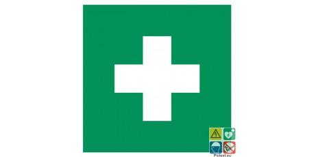 Pictogramme ISO7010 premiers secours symbole général