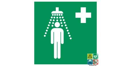 Picto douche de sécurité