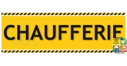 Chaufferie panneau de localisation