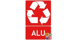 Panneau recyclage alu