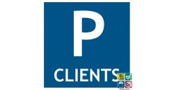 Pictogramme parking clients