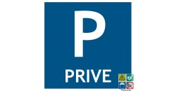 Pictogramme parking privé
