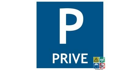 Pictogramme parking privé