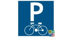 Pictogramme parking vélos