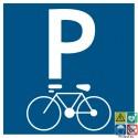 Pictogramme parking vélos