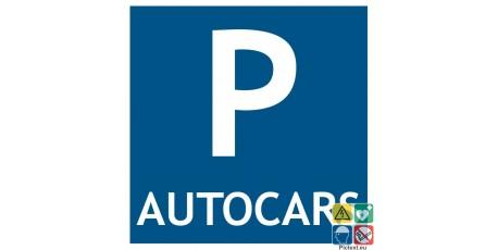 Pictogramme parking autocars