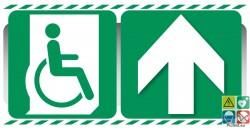 Evacuation PMR devant ou vers l'avant gamme xénon