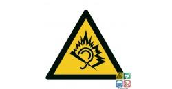 Picto danger dû au bruit iso7010