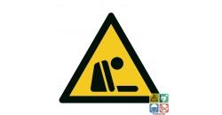 Picto risque d'asphyxie ISO7010