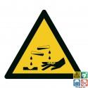 Picto matières corrosives