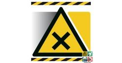 Picto matières nocives ou irritantes gamme xénon