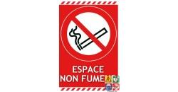 Panneau espace non fumeur gamme laser