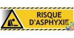 Panneau risque d'asphyxie gamme xénon