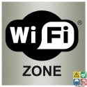 Pictogramme zone wifi ISO70001