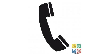 Pictogramme téléphone ISO70001