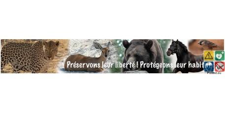 Panneau protégeons leur habitat