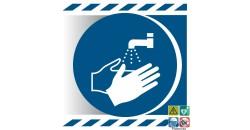 Picto lavage des mains obligatoire gamme xénon