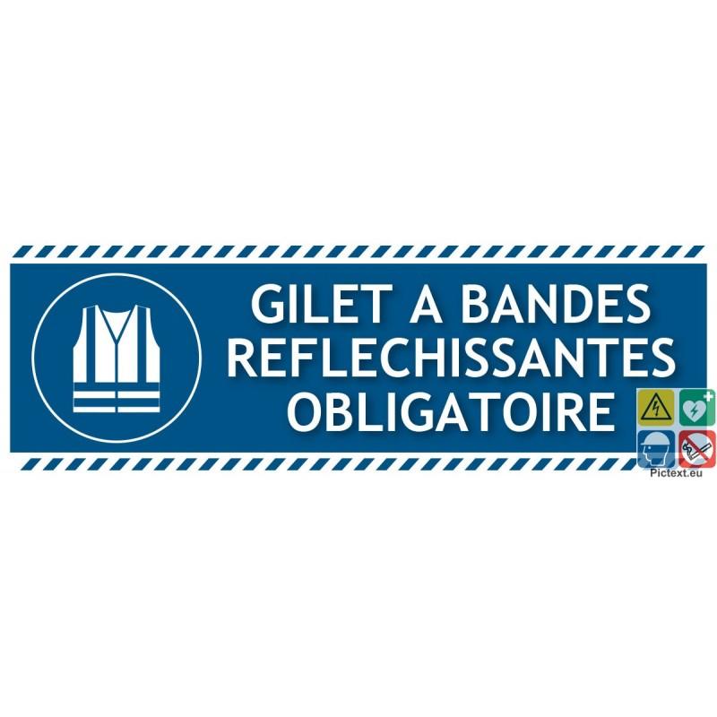 Signal tique gilet bandes r fl chissantes obligatoire - Port du gilet obligatoire ...