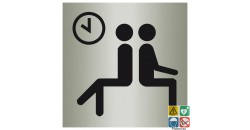 Pictogramme salle d'attente ISO70001