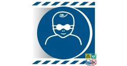 Picto protection des yeux pour les enfants en bas âge