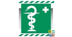 Pictogramme pharmacie 1er secours gamme xénon
