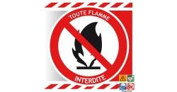 Picto toutes flammes interdites