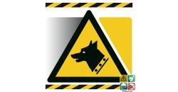 Picto avertissement chien de garde gamme xénon