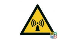 Picto danger radiations non ionisantes