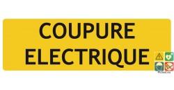 Coupure électrique panneau de localisation
