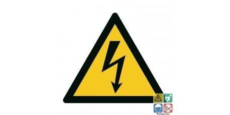 Panneau danger électrique