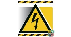 Panneau danger électrique gamme xénon