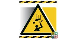 Picto danger chute d'objets
