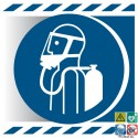 Picto utiliser un appareil respiratoire autonome