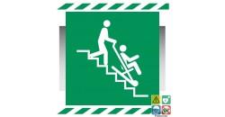 Picto chaise d'évacuation gamme xénon