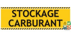 Panneau stockage carburant gamme laser