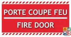 Panneau porte coupe-feu fire door